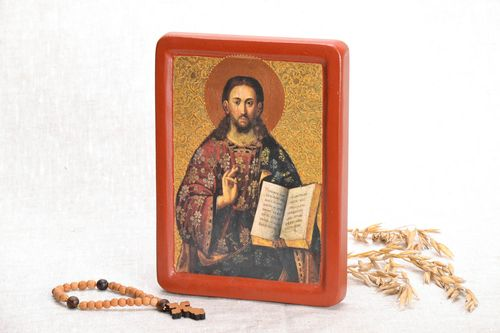 Icon reproduction Jesus Pantocrator - MADEheart.com