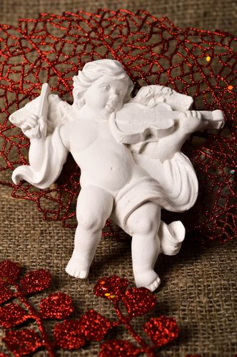 Handmade plaster craft blank small plaster figurines to paint art supplies - MADEheart.com