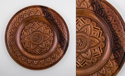 Wooden wall plate - MADEheart.com