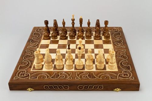 Chess board game - MADEheart.com