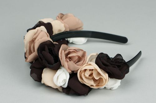 Headband made from chiffon - MADEheart.com