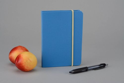 Flavored notebook, blue and yellow - MADEheart.com