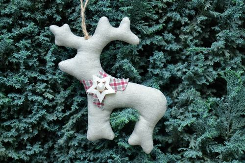 Soft Christmas tree decoration Deer - MADEheart.com