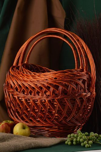 Handmade designer woven baskets 4 baskets for Easter decorative baskets - MADEheart.com
