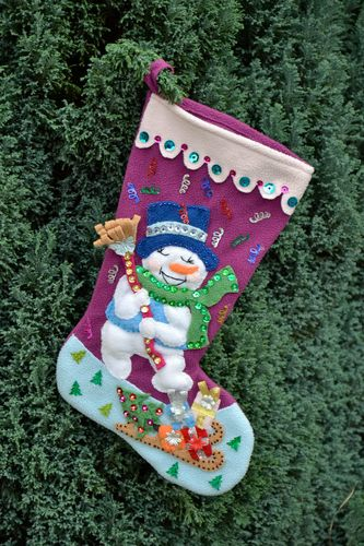Christmas boot for gifts  - MADEheart.com