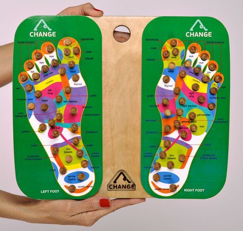 Wooden foot massage tool - MADEheart.com
