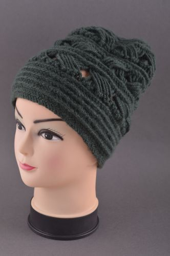 Handmade knitted hat fashion hat for women winter accessories for girls - MADEheart.com