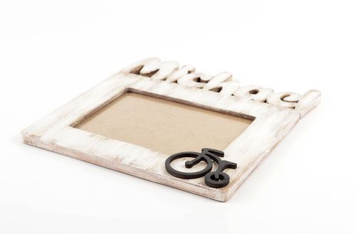 Handmade plywood photo frame wood craft table decor ideas decorative use only - MADEheart.com