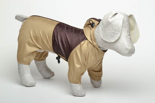 Dog raincoat with zipper - MADEheart.com