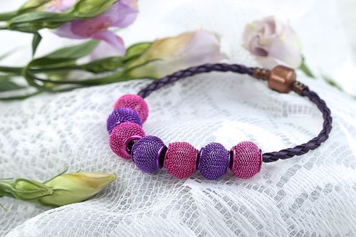 Womens bracelet fashion jewelry handcrafted jewelry string bracelet gift for her - MADEheart.com