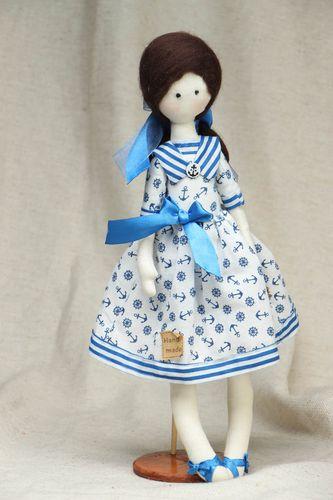 Handmade collectible doll - MADEheart.com