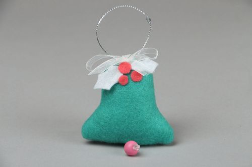 Christmas decoration Blue Bell - MADEheart.com