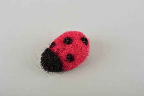 Handmade felted wool toy soft toy cute toys gift ideas decorative use only - MADEheart.com