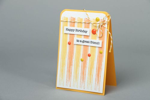Happy Birthday greeting card - MADEheart.com