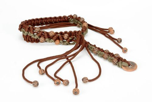 Braided belt - MADEheart.com
