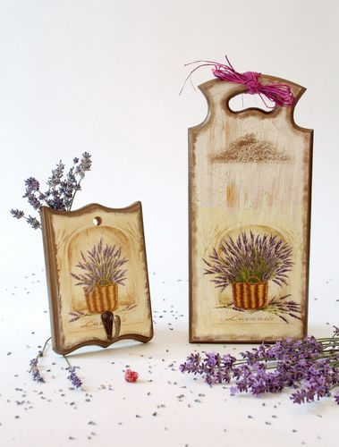 Board and hanger Wildflowers - MADEheart.com