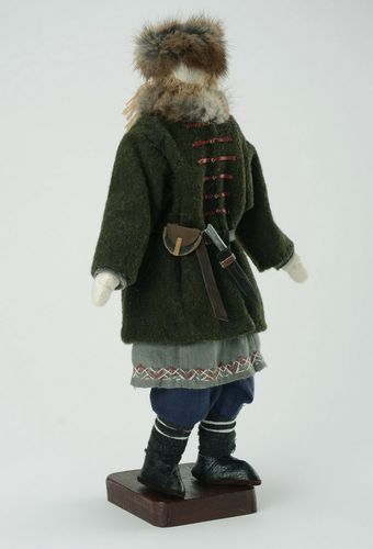 Interior doll Hunter from Kievan Russia times  - MADEheart.com