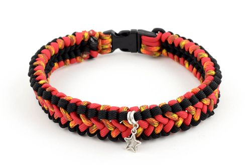 Handmade dog collar pet collar paracord dog collar pet accessories dog products - MADEheart.com