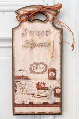Decorative Cutting Board Sweet Home - MADEheart.com