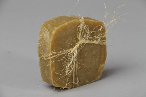 Solid shampoo for dry hair  - MADEheart.com