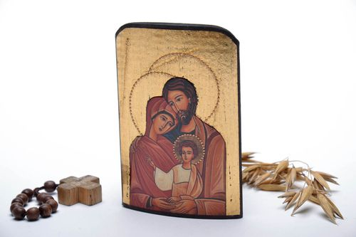 Icon reproduction Sacred Family - MADEheart.com