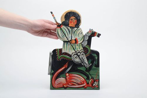 Folk icon of the Saint George - MADEheart.com