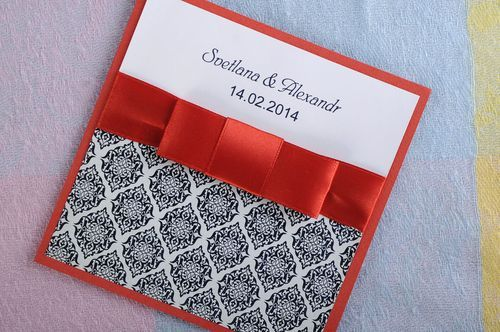 Wedding invitation  - MADEheart.com