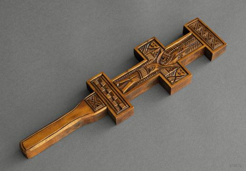 Wall cross in ancient style - MADEheart.com