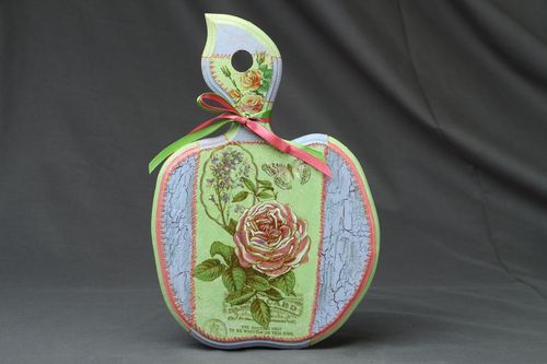 Decorative chopping board Apple - MADEheart.com