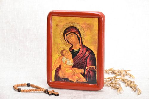 Copy of the icon The Mother of God Benefactress - MADEheart.com