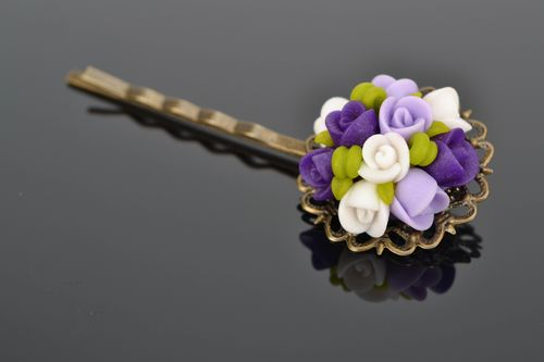 Beautiful plastic hairpin - MADEheart.com