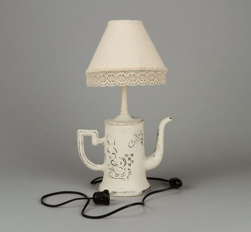 Coffee pot lamp - MADEheart.com