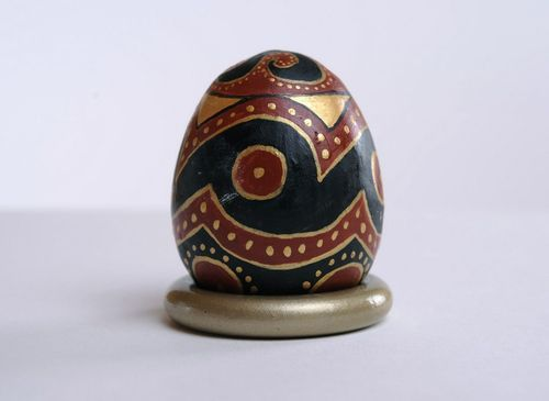 Ceramic decorative egg - MADEheart.com