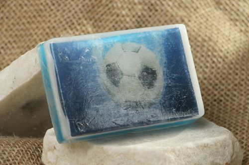 Soap-picture Football - MADEheart.com
