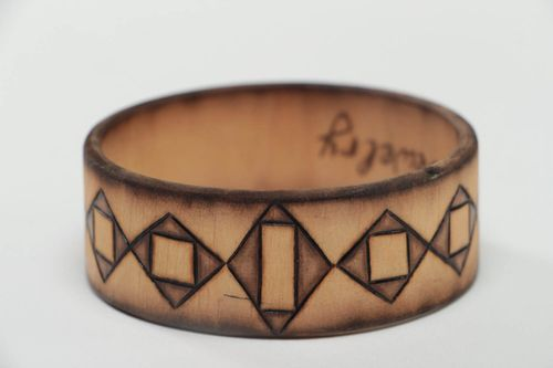Wooden bracelet handcrafted jewelry fashion accessories bracelets for women - MADEheart.com