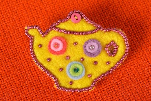 Brooch jewelry homemade jewelry designer accessories gifts for children - MADEheart.com