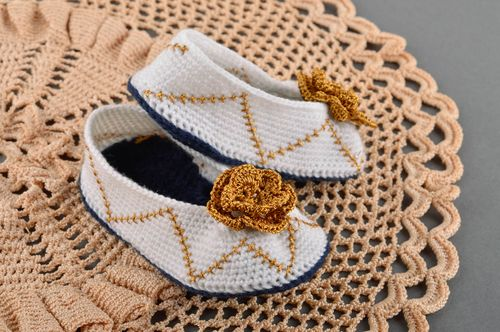 Handmade beautiful footwear children home slippers warm slippers for kids - MADEheart.com