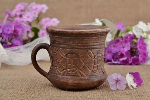 Handmade tea cup designer tea cup unusual gift cup for coffee kitchen decor - MADEheart.com