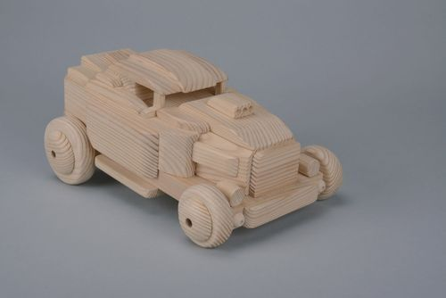 Wooden Car - MADEheart.com