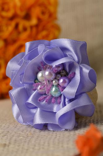 Homemade jewelry brooch handmade flower brooch designer accessories gift for her - MADEheart.com