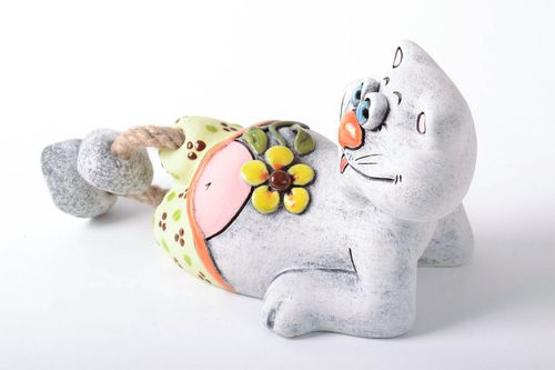 Ceramic money box Cat - MADEheart.com