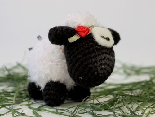 Small Soft Toy Sheep - MADEheart.com
