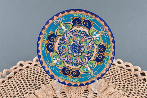 Handmade plate decorative table decor interior plate decorative use only - MADEheart.com