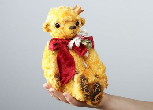 Soft toy Terry Bear  - MADEheart.com