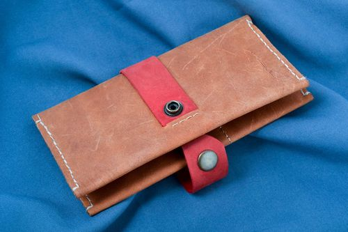 Womens wallet handmade leather good ladies wallet designer accessories - MADEheart.com
