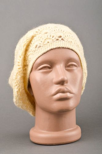 Winter hat for women handmade crochet hat fashion accessories gifts for women - MADEheart.com