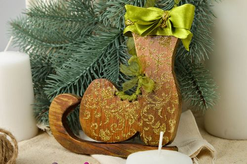 Homemade toys Christmas tree ornament for decorative use only home decor - MADEheart.com