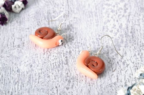 Earrings Snails - MADEheart.com