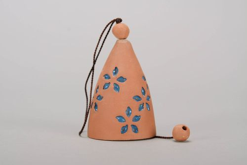 Bell made from red clay - MADEheart.com