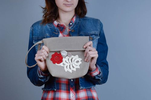 Stylish handmade shoulder bag fashion trends bag design accessories for girls - MADEheart.com
